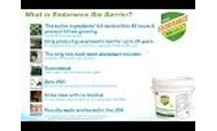 Endurance BioBarrier Informational Video