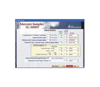 MercSampler - Version XC-6K-SW - Automated Software