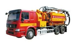 Xianglong - Model Ct2501 series - Cleaning and Suction Vehicle Series