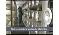 Cartridge Filter Changeout at an Industrial Plant Video