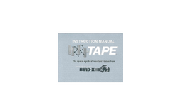 Irri-Tape - Multi-Sensory Attack Scares Birds - Instructions Manual
