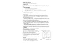 Balcony Gard Silent Bird Repeller - Instruction Manual