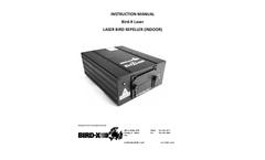 Bird-X Laser Laser Bird Repeller (Indoor) - Instruction Manual