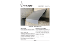 AviAngle Bird Slope Exclusion Device - Operator Manual