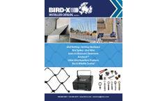 Bird-X Products Installer - Catalog