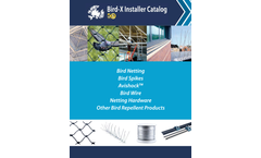 Bird-X Products Installer - Catalog