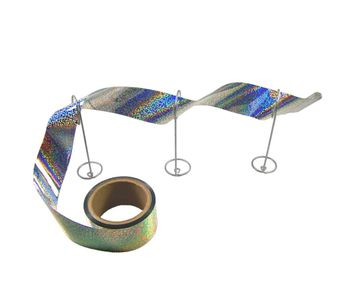 Irri-Tape - Holographic Bird Flash Tape