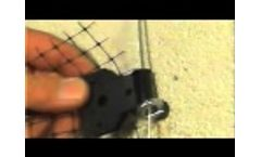 Bird Netting Installation Demonstration - Video