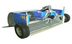 Metaljonica Beach Cleaning machine - Model Series 195P - Beach Cleaner