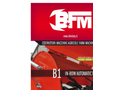 BFM - Model B1 - In-Row Automatic Tiller Brochure