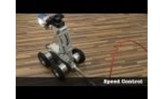 Pipe Inspection Robot GECKO 9050: Overview Video