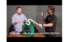 Plumbing Camera MiniFlex Curve King - Hands-on Introduction Video