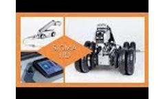 Pipe Crawler SIGMA HD Test Drive - Video