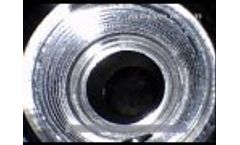 Video Borescope IRis DVRx 4mm Image Sample - Video
