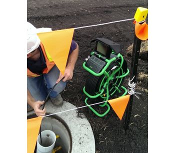Drain Cameras to Inspect Water and Wastewater Lines - Water and Wastewater