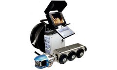 Gecko - Model 9060 - Steerable Pipe Inspection Robot