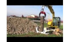 Hydraulic Gripper Trunk Splitter EXPLOSION- mod.800 Video