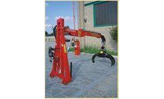 Tecnomeccanica - Model TFG 300L - Lift for Wood Moving