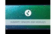 Humidity Measurement Using Thin-Film Sensor Technology - Video