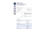 IST AG - Model 150 ºC Series - Platinum Temperature Sensor (-50 ºC to + 150 ºC) - Datasheet