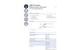 IST AG - Model 200 ºC Series - Platinum Temperature Sensors (-50 ºC to + 200 ºC) - Datasheet