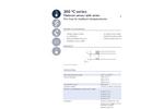 IST AG - Model 300 ºC Series - Platinum Temperature Sensors (-200 ºC to + 300 ºC) - Datasheet