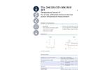 IST AG TSic 206/203/201/ 306/303/301 - Temperature Sensor IC - Data Sheet