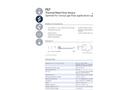 IST AG - Model FS7 - Thermal Mass Flow Sensor - Datasheet