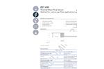 IST AG - Model FS7.4W - Gas Flow Sensors - Datasheet