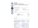 IST AG P14-W Humidity Sensors - Data Sheet