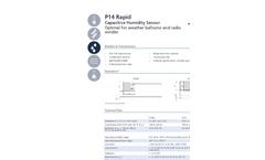 IST AG P14 Rapid Humidity Sensor - Data Sheet