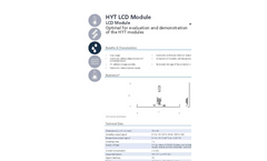 IST AG HYT LCD Module - Data Sheet