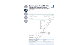 IST AG - Out of Liquid Flow Sensors - Data Sheet