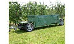 Silver Bull - Model Type W3 - Fruit Harvest Wagon