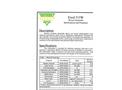 Model Excel 315W - Woven Geotextiles Datasheet
