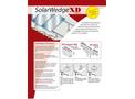 SolarWedge - Model XD - Commercial Tilted Racking System Brochure