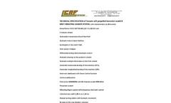 Model RPL 2015 ENT - Vibrating Shaker System Brochure