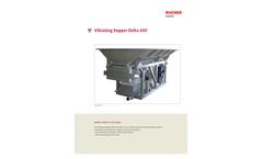 Delta - Model AEV/CVE - Vibrating Hoppers Brochure