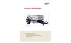 Delta - Model RV/RVE - Vibrating Trailers  Brochure