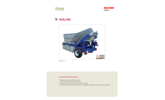 Delta - Model REC - Compartmentalized Draining Trailer Brochure