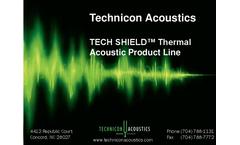 Tech Shield - Sound Attenuation Materials Brochure