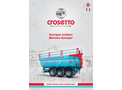 Crosetto - Dumper Trailers Brochure