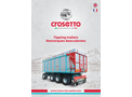 Crosetto - Tipping Trailers Brochure