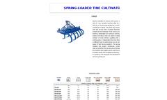 Combi - Model P - Tiller Cultivator Brochure