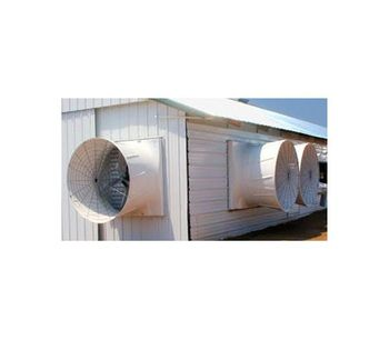 Abbi-Aerotech - Vortex Fan for Poultry Farms Ventilation System