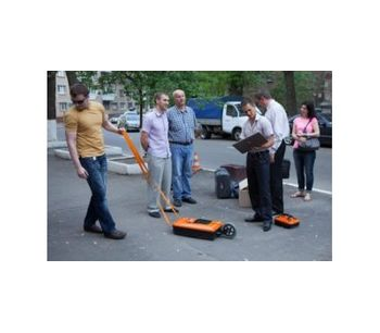Ground Penetrating Radars (GPR) for Pipes and Cables - Water and Wastewater - Pipes and Piping
