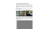 Example of GPR application on fresh water reservoir