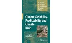 Climate Variability, Predictability and Climate Risks