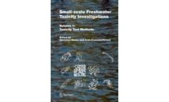 Small-scale Freshwater Toxicity Investigations