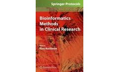 Bioinformatics Methods in Clinical Research